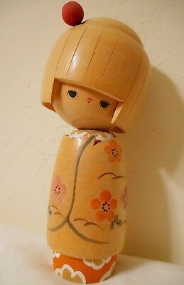 Gorgeous Vintage Japanese Kokeshi Doll