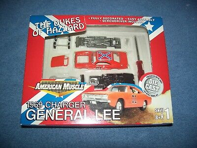 2001 The Dukes of Hazzard American Muscle 1969 Charger General Lee 1:64 Ertl