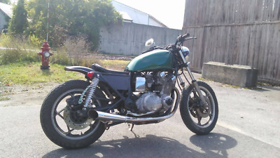 1981 Custom Built Motorcycles Bobber  stripped down 1981 Suzuki gs850 bobber street tracker