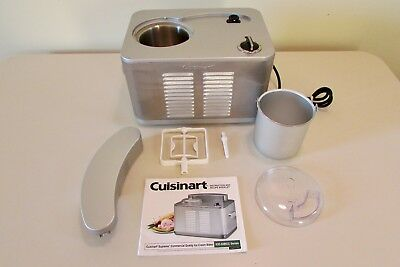 Cuisinart-50BCC Supreme Commercial Quality Ice Cream Maker-VERY GOOD CONDITION!