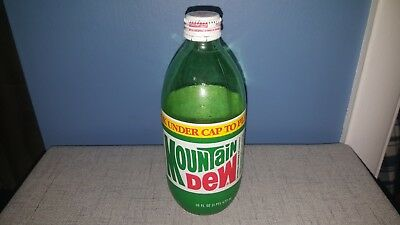 Mountain Dew 16 oz bottle 1989
