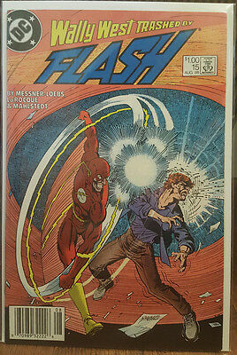 The Flash #15 (1987) DC Comics COMBINED SHIPPING
