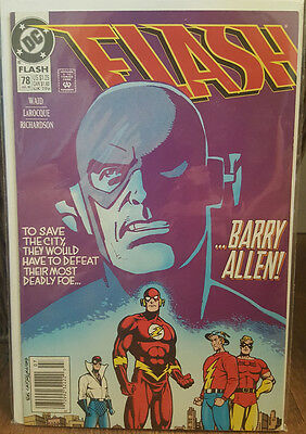 The Flash #78 (1987) DC Comics COMBINED SHIPPING