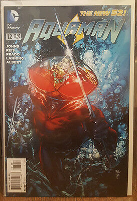 Aquaman #12 The New 52 Geoff Johns DC Comics COMBINED SHIPPING