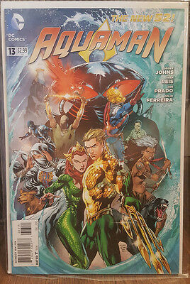 Aquaman #13 The New 52 Geoff Johns DC Comics COMBINED SHIPPING