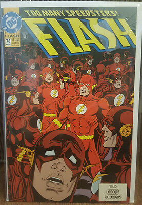The Flash #74 (1987) DC Comics COMBINED SHIPPING