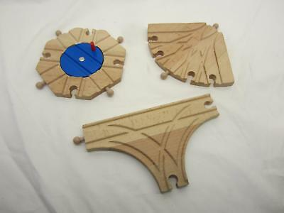 Special Wooden Train Tracks Pieces Brio Thomas Melissa & Doug Compatible