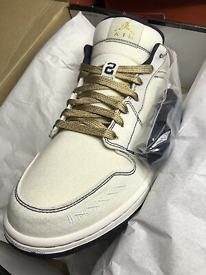 c2a24a8b41a 2010 AIR JORDAN 1 Phat Low Vibrnt Yellow, bone, 338145105 Sz 9, NIB ...