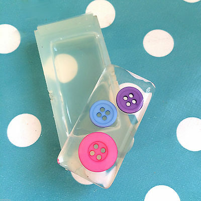 SILICONE RECTANGLE CABOCHON- 48mm Resin Jewellery Mould Mold Shape Square
