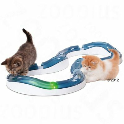 Cat It Design Senses Super Roller Circuit Kitten Ball Toy Chase Play Track