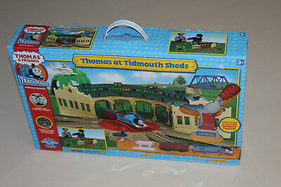 Thomas The Tank Engine Trackmaster Thomas at Tidmouth Sheds Brand New Very Rare