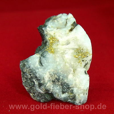 Gold in Quarz | Kristallin | USA/Nevada | 11 Gramm |23 Karat | Gediegen ged. 673