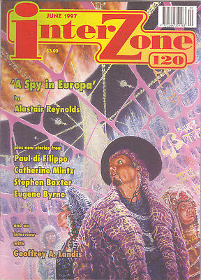 Interzone Issue 120 - Alastair Reynolds, Paul Di Filippo, Stephen Baxter etc