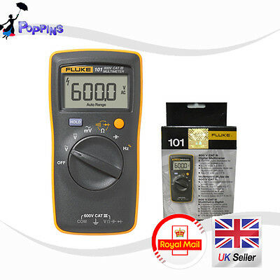 NEW Fluke 101 Handheld and Easily Carried Digital Multimeter