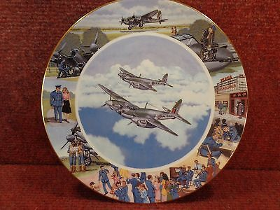 """Doulton / Bradex 8"""" Taking It All In Their Stride Ltd Ed Plate 485A Free Uk Post"""