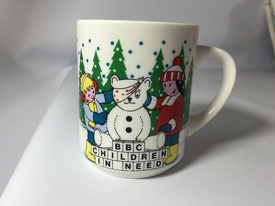 Vintage Children In Need Collectors Mug. 1986. Charity. Pudsey Bear BBC