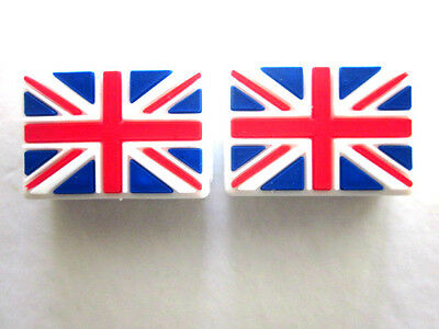 2 UK FLag Tennis Vibration Absorber Dampeners Andy Murray UK England Queen SQ