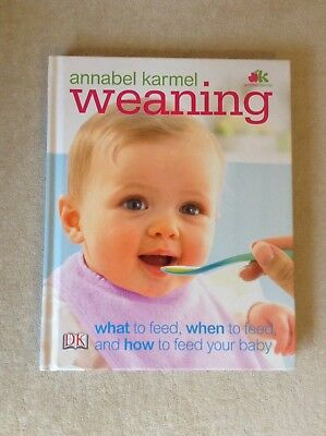 Weaning Baby Book By Annabel Karmel