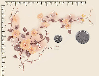 """1 x Ceramic decal.Decoupage Blossom Branch Flowers Floral  8 1/2"""" x 6""""   PD845"""