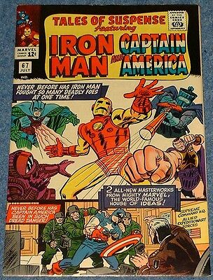 TALES OF SUSPENSE # 67 & 68 (1965) - Iron Man! Captain America! The Red Skull!