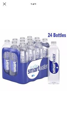 Glaceau Smart water Natural Mineral Water Bottle Plastic 600ml Pack of 24