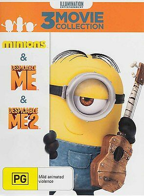 MINIONS, DESPICABLE ME 1 & 2 ULTRAVIOLET CODES - NO DISCS - 3 movies for $6.00!