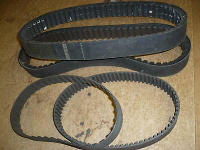 Bridgeport milling machine variable speed, timing belts for step and vari speed