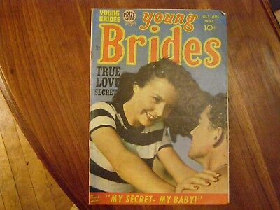 Young Brides Vol 1 #6    S & Kirby G+
