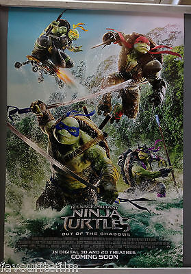 Cinema Poster: TEENAGE MUTANT NINJA TURTLES OUT OF THE SHADOWS 2016 Wave 1 Sheet