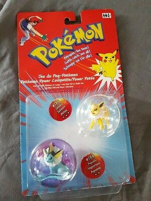 Pokémon Aquana + Blitza Power Pokes Pokeball & Figuren Hasbro Neu & Ovp
