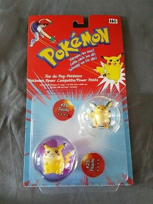 Pokémon Pikachu + Raichu Power Pokes Pokeball & Figuren Hasbro Neu & Ovp