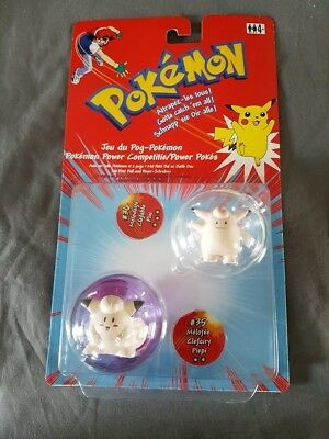 Pokémon Pixi + Piepi Power Pokes Pokeball & Figuren Hasbro Neu & Ovp