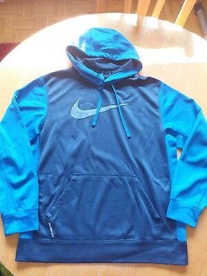 nike sweatshirt pulli pullover hoodie sweater gr m grau. Black Bedroom Furniture Sets. Home Design Ideas