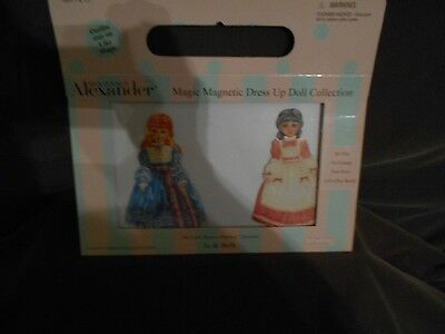 Madame Alexander Magic Magnetic Dress Up Dolls Beth & Jo Little Women