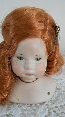 SFBJ Doll Mold # 252 (Candice),  Red Hair, Very Nice Condition, Mold Only