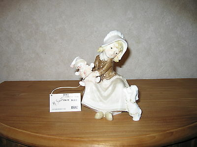 ISAC ITALY *NEW* Posture Fille avec clown 17cm