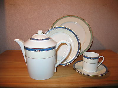 Medard de Noblat *NEW* Windsor Bleu Set 2 Assiettes