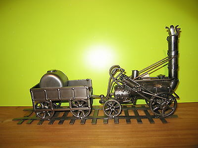 HINZ & KUNST *NEW* Sujet en fer Train L.40cm
