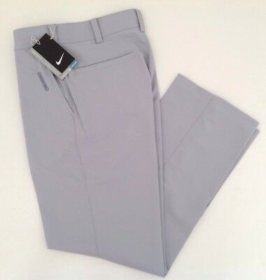 New Boys Nike Golf Pants 541877 Dri Fit Solid Black or Gray Youth S M L NWT