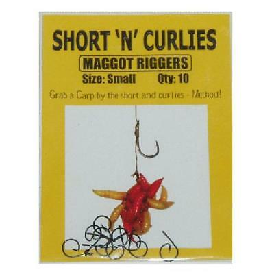 Short-n-Curlies Maggot Riggers - Small