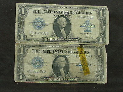 2-1923  $1 One Dollar Bill United States Large Currency Note