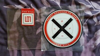 """Thirty Seconds To Mars - The Kill / Attack (Vinyl / 7"""" Picture Disc)"""