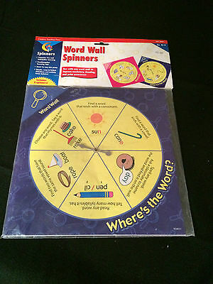 Word Wall Spinners from Creative Teaching Press