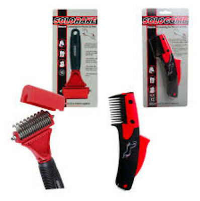 Solocomb Solo Rake - Thinning Mane & Tail Comb Brushes Worldwide Shipping Animal