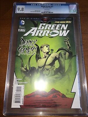 Green Arrow #21 CGC 9.8 White Pages 1st Appearance Of The Outsiders