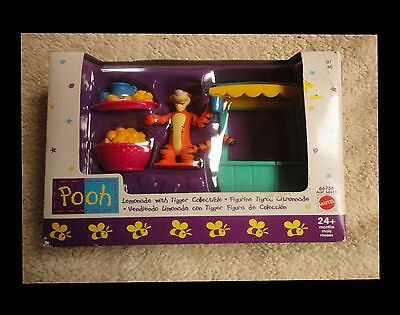 Pooh ~ Lemonade Stand with Tigger - Mattel / Disney - New