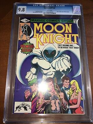 Moon Knight #1 CGC 9.8 White Pages 1980 Origin Of Moon Knight
