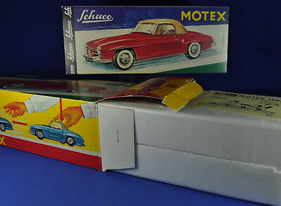 Blechauto / Tin Car SCHUCO Motex 1088 Replica, No. 00220, Reibradauto / Friction