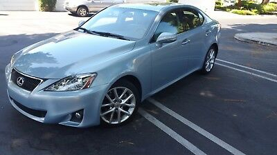 2011 Lexus IS  2011 Lexus IS 250 Light Blue