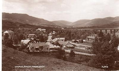 Crianlarich from East Railway RP pc used  1950 Valentines